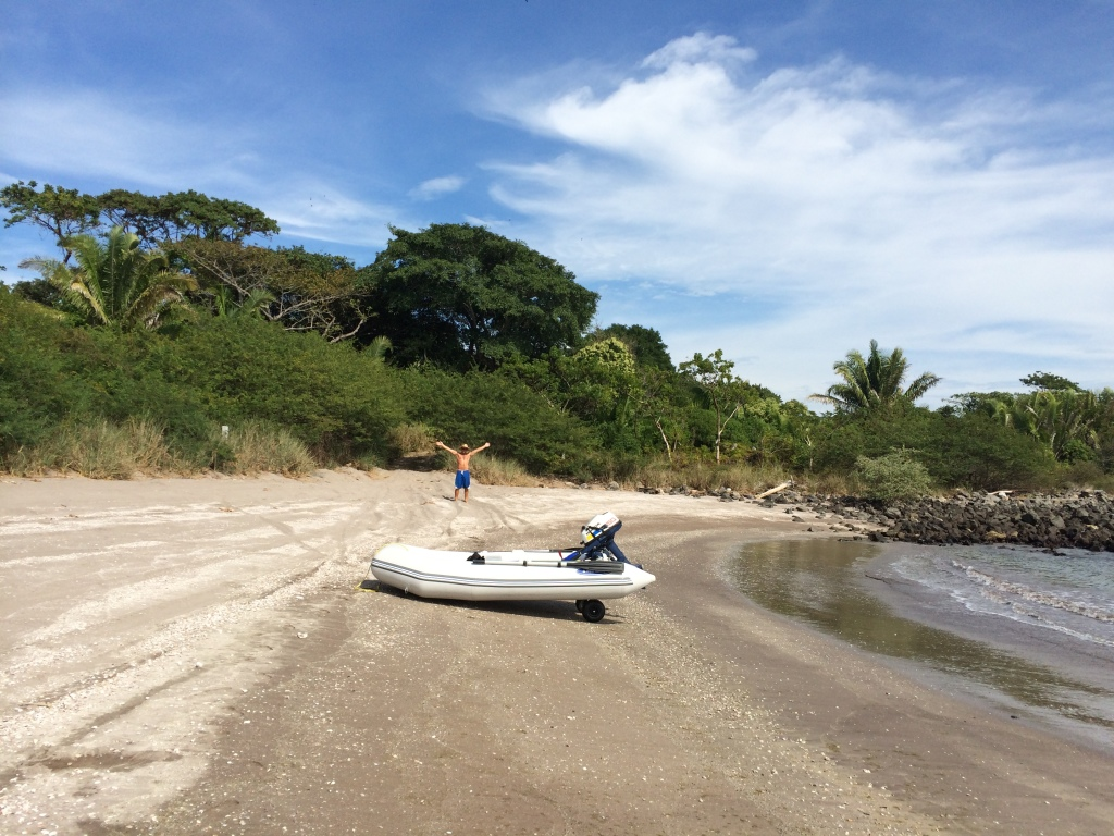 First Mainland Landing Punta Camarrones (I think)