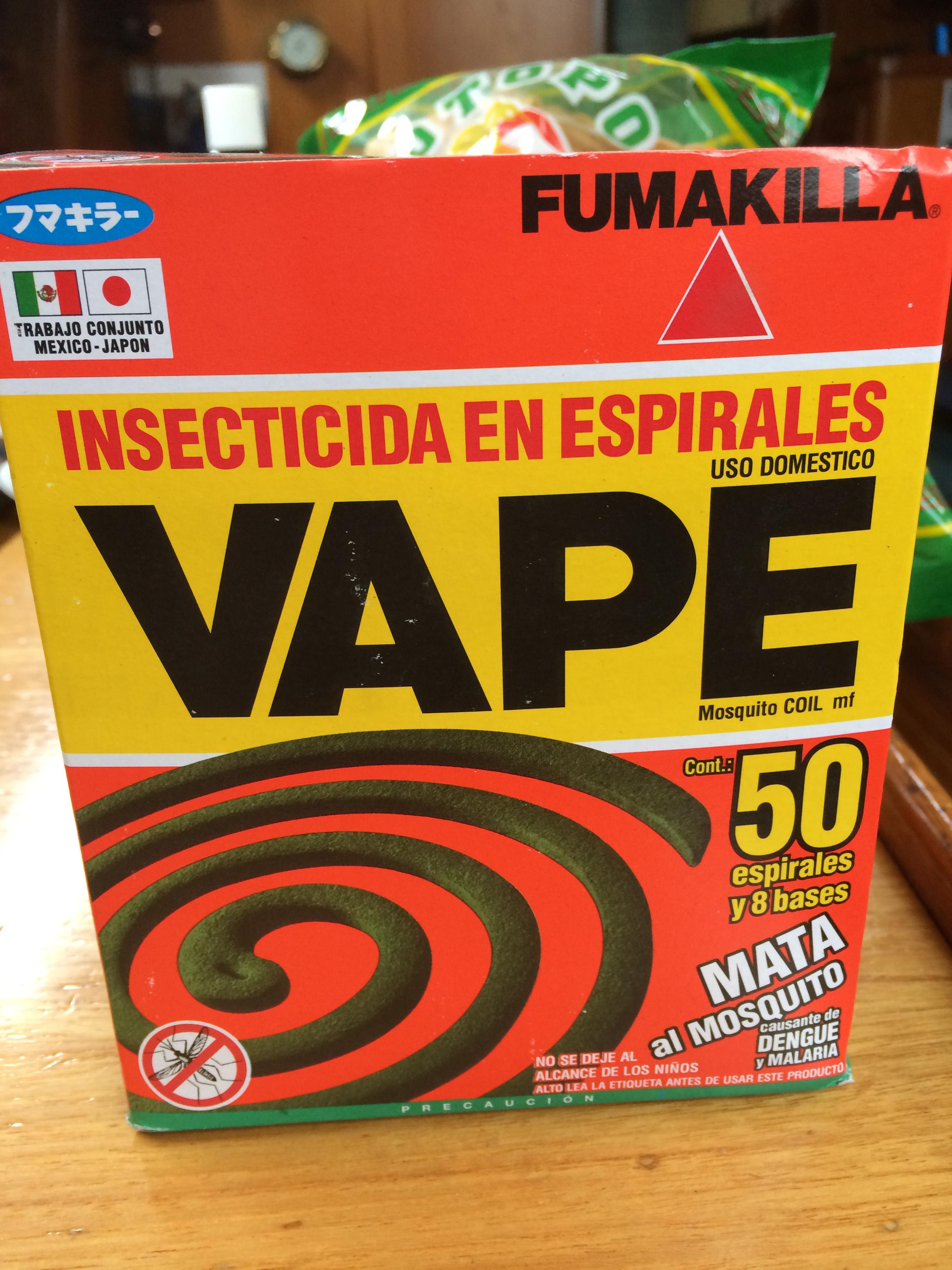 """Fumakilla"" says it all..."