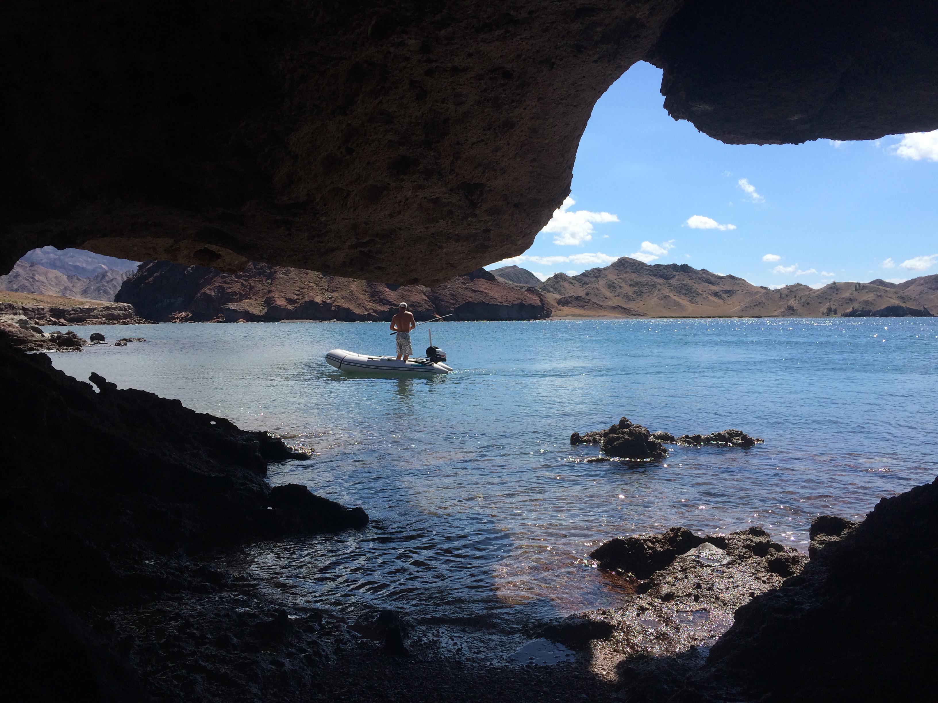 Cave view Jonny fish