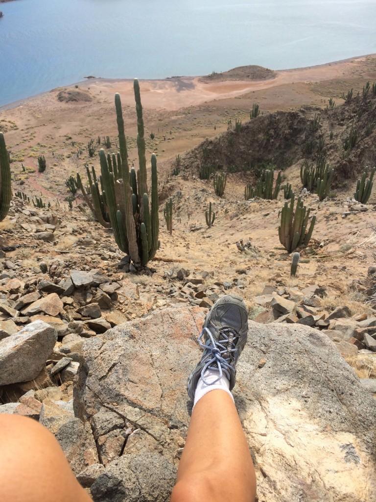 Climb view foot