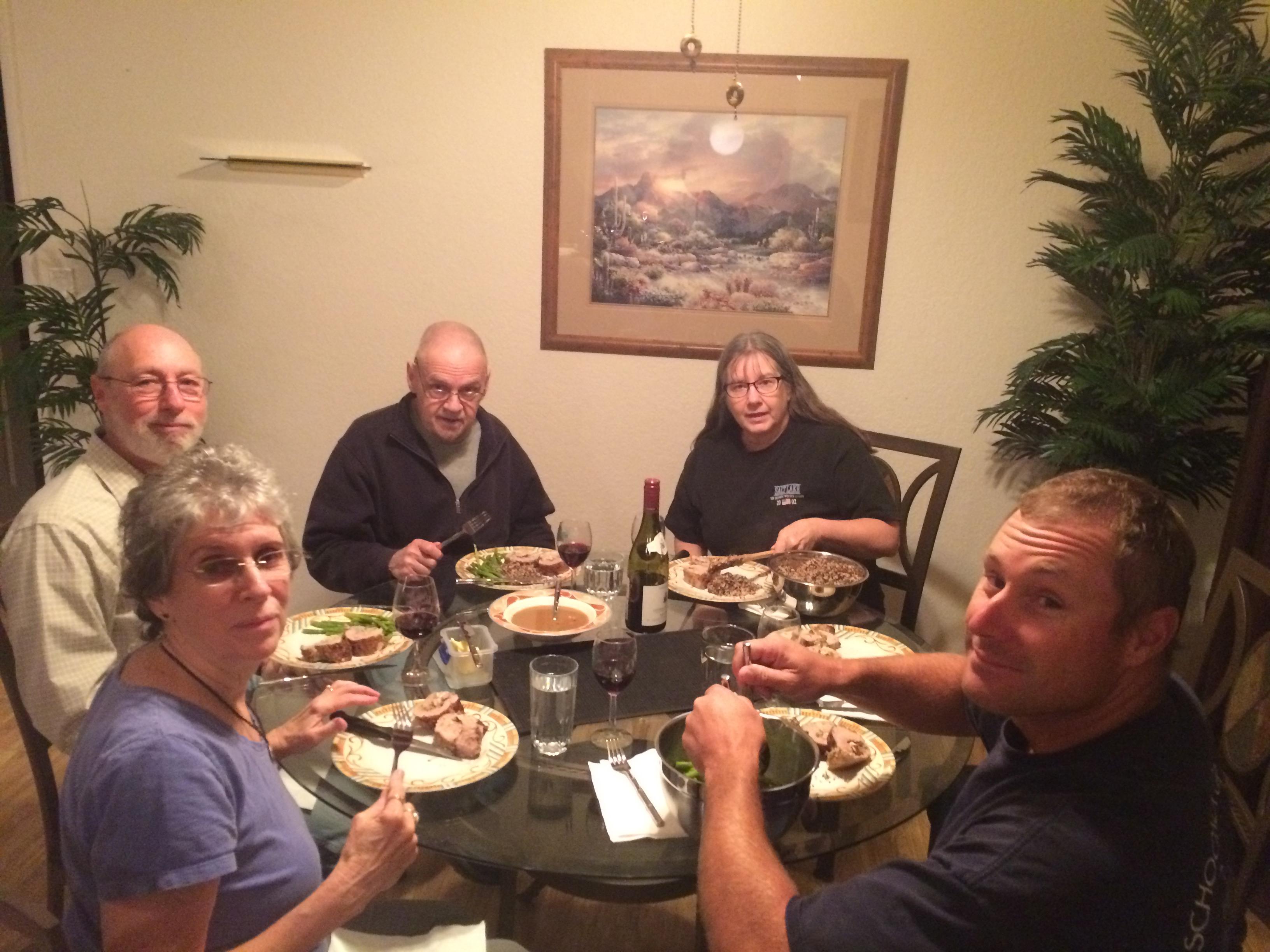 Tucson Dinner Our Condo