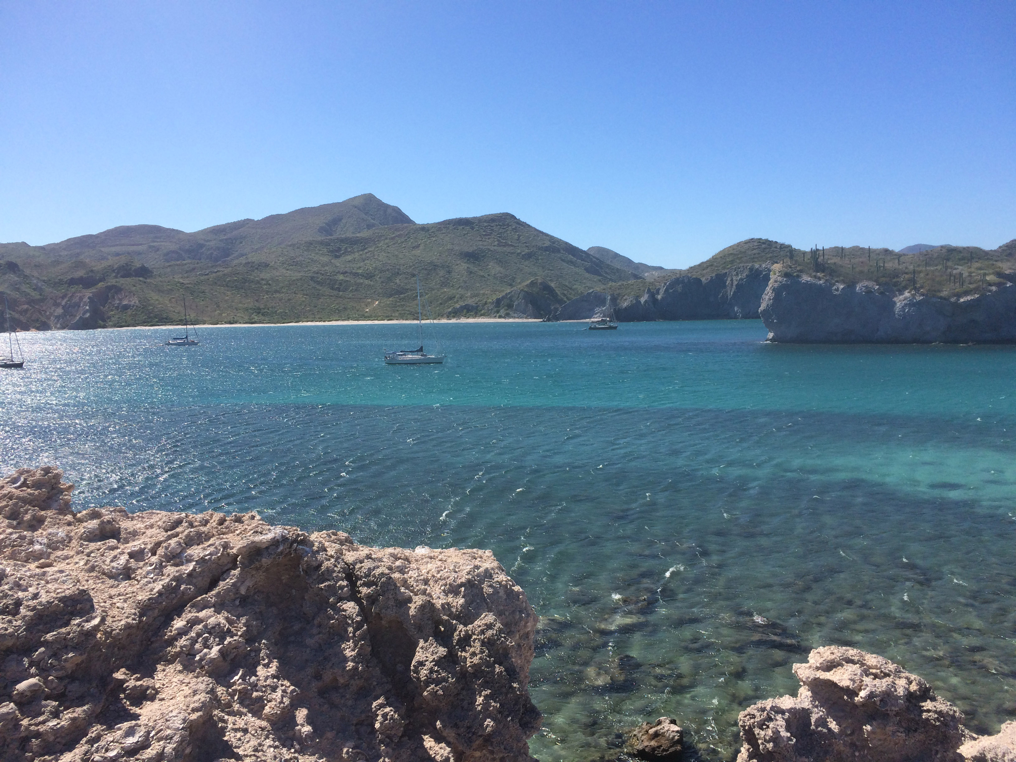 San Juanico boats